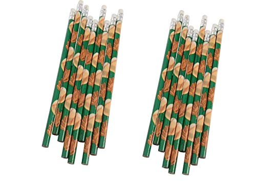 (2 Dozen (24) Baseball Pencils ~ Party Favors/Classroom Student Rewards/Goody Bag)