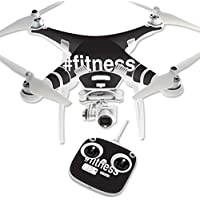Skin For DJI Phantom 3 Standard – Fitness | MightySkins Protective, Durable, and Unique Vinyl Decal wrap cover | Easy To Apply, Remove, and Change Styles | Made in the USA