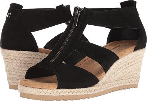 Skechers Cali Women's Monarchs Wedge Sandal,black,8 M US