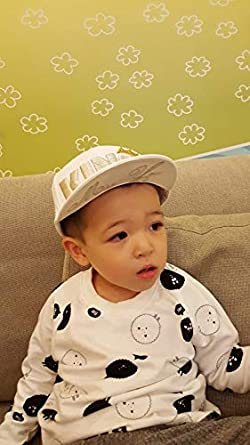 de653898a32 Amazon.com  AGIBABY Infant   Toddler Flat Brim Snapback King embroidered  baseball trucker hat cap (Black)  Clothing