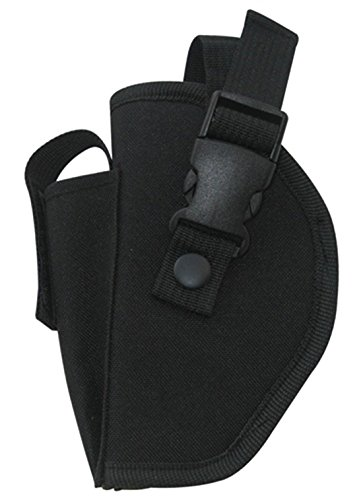 Ultimate Arms Gear Stealth Black Deluxe Left Handed Commando Belt Holster, Fits Browning Hi-Power Pistols