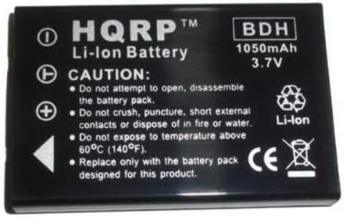 A-HD+ V5VP A-HD V5V HQRP Two Batteries for Aiptek GO-HD DAM-Z5X MZ-DV DZO-Z53 Camcorder Replacement Plus LCD Screen Protector