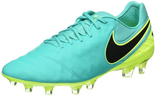 NIKE Men's Tiempo Legend VI FG Soccer Cleat (Sz. 8.5) Clear Jade - Nike Mens Tiempo Legend