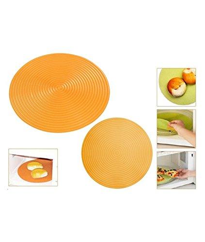 Siliconezone - Plato de silicona disc para microondas color ...