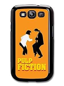 Pulp Fiction Uma Thurman John Travolta Dancing Minimalist Illustration case for Samsung Galaxy S3
