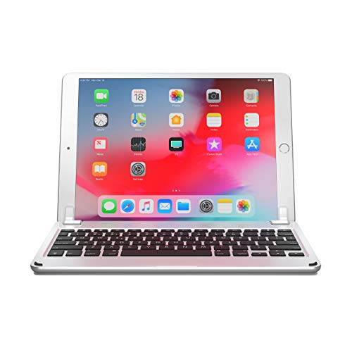df787891d Brydge 10.5 Keyboard for iPad Air (2019) and iPad Pro 10.5 inch, Aluminum  Bluetooth Keyboard with Backlit Keys (Silver)