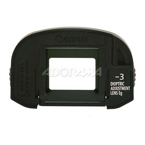 - Canon Finder Diopter EG -3.0 with Rubber Frame for Select EOS Cameras