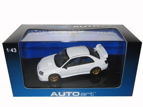 AUTOart 1/43 スバル インプレッサ WRX STi 03 (ホワイト) (586725) 完成品 B002B5BD6C