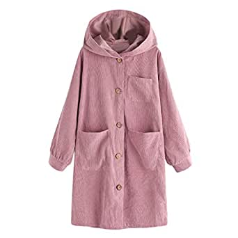 Amazon.com: Jiayit Women Hooded Coats Winter Oversize