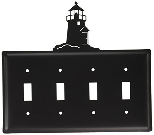 - 8.25 Inch Lighthouse Quadruple Switch Cover