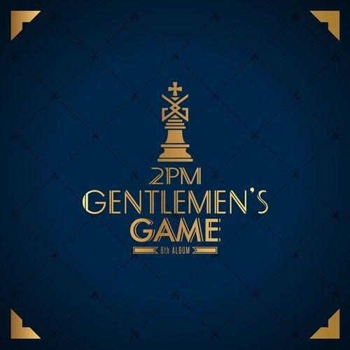 2PM [GENTLEMEN'S GAME] 6th Album Normal Ver CD+Photobook+Card+Tracking Number K-POP SEALED