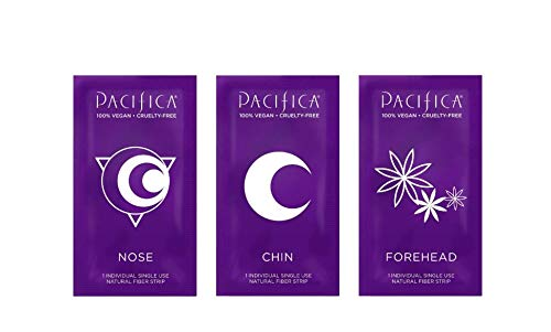 Pacifica Cosmic Vanish Pore Strips 3 Pack! 6 Natural Fiber Strips Each Pack! Tea Tree Oil, Hemp Oil & Witch Hazel! Lifts Evidence Of Dirt, Blackheads And Clogged Pores! by Pacifica (Image #2)