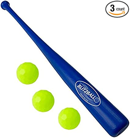 BLITZBALL Plastic Baseball 2 Pack