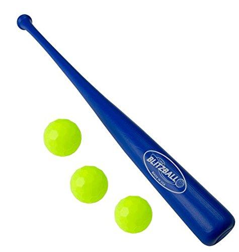 BLITZBALL Starter Pack - Includes (3) Blitz Balls & 1 Power Bat by BLITZBALL