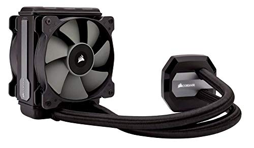 - CORSAIR Hydro Series H80i v2 AIO Liquid CPU Cooler, 120mm Thick Radiator, Dual 120mm SP Series PWM Fans, Advanced RGB Lighting and Fan Software Control