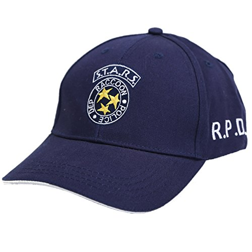 Xcostume Resident Evil Hat Stars Baseball Cap for Casual Use