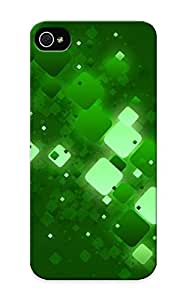 Pirntalonzi 0af48f13690 Case Cover Iphone 5/5s Protective Case Green Squares ( Best Gift For Friends)