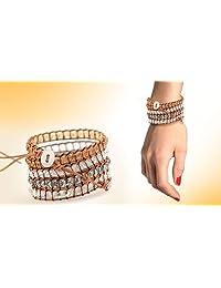 FREE PRIME SHIPPING, Swarovski Element Crystal Wrap Bracelet, 160 Sparkling Crystals, BOHO