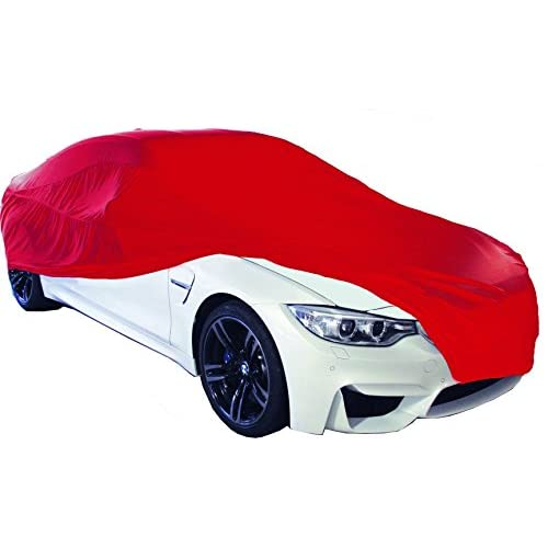 Intérieur 10356Housse de voiture, petite, Rouge