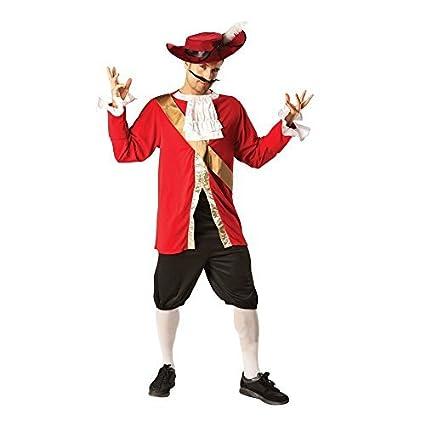 Amazon.com: Disney ~ – Disfraz de capitán garfio para ...