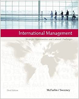 Book International Management 3E: Strategic Opportunities And Cultural Callenges (b)