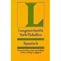 Langenscheidt Verb-Tabellen: Langenscheidts Verb-Tabellen: Spanisch
