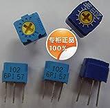 10pcs Sale Precision Potentiometers GF063P-1K,2K,5K,10K,20K,50K,100K - (Color: 2k)