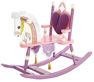 Levels of Discovery Kiddie-Ups Princess Rocking Horse