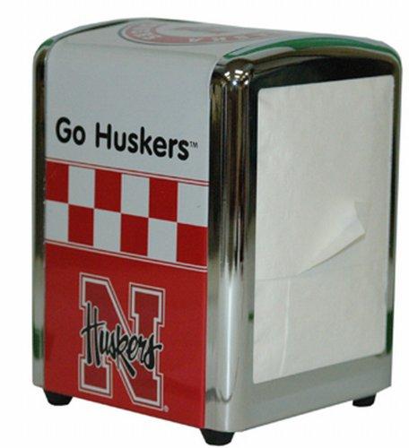 NCAA Nebraska Cornhuskers Retro Design Napkin Holder