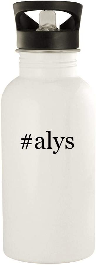 #alys - 20oz Stainless Steel Water Bottle, White 41FTPdYMQML