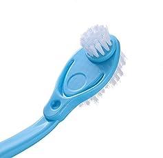Limpiar, lavar zapatillas especial cepillos para zapatos de 3en 1mango largo, 3cabezales zapatos Lavado cepillo para polvo para polvo de limpieza