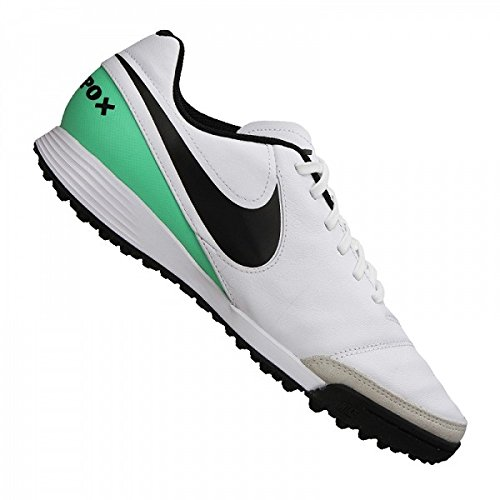 NIKE Tiempox Genio II Leather Turf Shoes [White] (8)