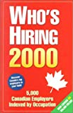 Who's Hiring 2000, Anthony Meehan, 0968144772