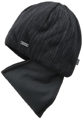 Silk Wool Cap (Outdoor Research Women's Igneo Facemask Beanie, Black/Charcoal, 1size)