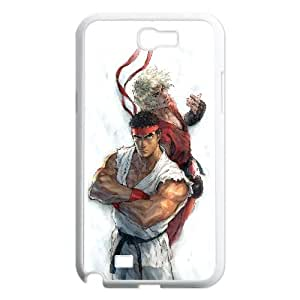 Ryu And Ken Street Fighter Game7 Samsung Galaxy N2 7100 Cell Phone Case White Phone Accessories VRK99CTCTK