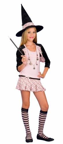 Rubies Costumes Charm School Witch Teen Costume Black/Pink Medium (2/4)