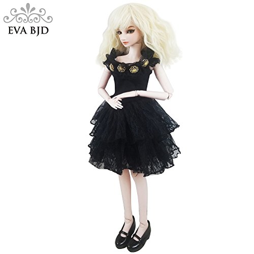 Charm Spy Jimmy 1/3 BJD Doll 24inch Ball Jointed Dolls Reborn Figure + Full Set Accessories + Shoes + Hair + Clothes by EVA BJD (Image #5)