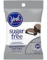 Sugar Free Mini York Peppermint Patties 3 Ounce Theater Size Pack 1 Bag