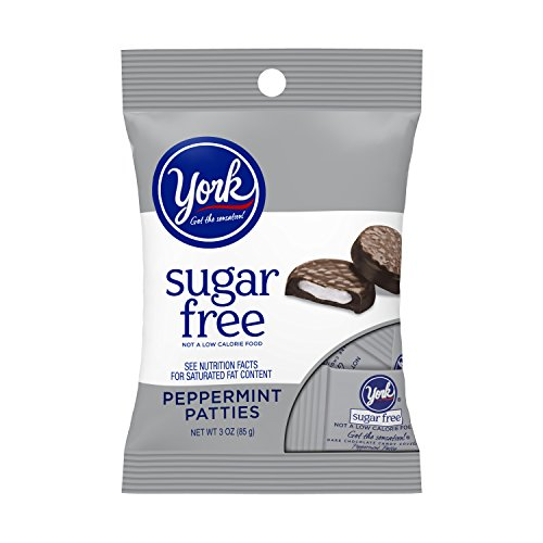 YORK Sugar Free Peppermint Patties, 3 Ounce