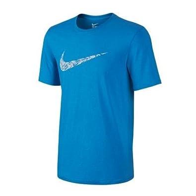 c6e31b55 Nike Palm Print Swoosh T-Shirt Mens Style: 779690-435 Size: M