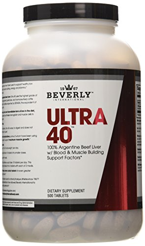 Beverly International Ultra 40, 100% Bee - Ultra 40 Liver Shopping Results