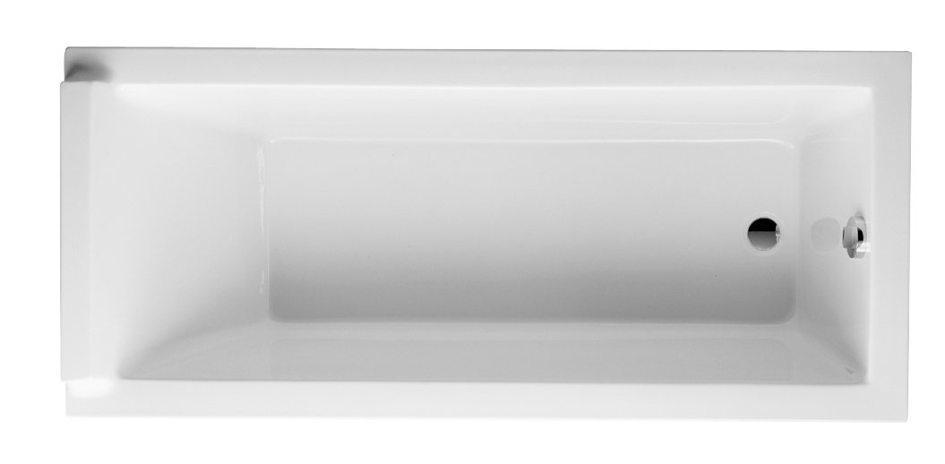 Duravit 700001000000090 Starck 63-Inch by 27-9/16-Inch by 19-1/8-Inch Acrylic Bath Tub, White Finish by Duravit
