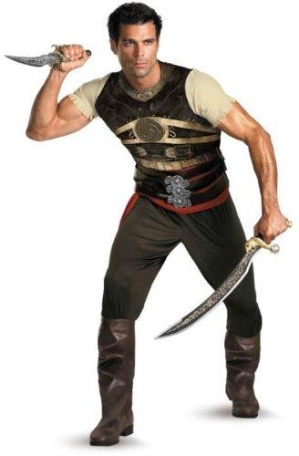 Prince Of Persia Costume Men (Prince of Persia Dastan Adult Costume - X-Large)