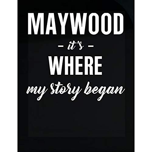 Inked Creatively Maywood It's Where My Story Began Sticker