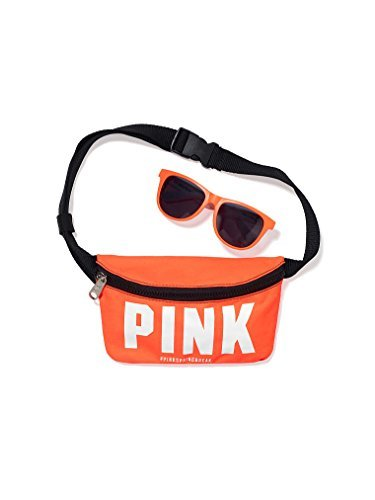 UPC 765908257740, Victoria's Secret PINK! Fanny Pack & Sunglasses Orange