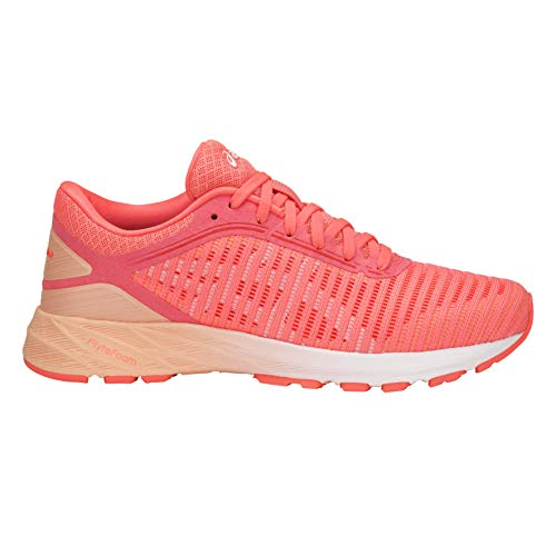 Corail Chaussures Running orange P blanc le Rose De 2 Asics Dynaflyte Femme Eq044