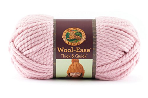 Lion  640-103D Wool-Ease Thick & Quick Yarn , 97 Meters, Blossom ()