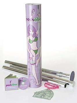 29c4baea0afc Peekaboo Pole Dancing Kit  Amazon.co.uk  Toys   Games
