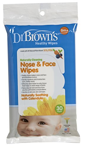 Dr Browns Nose Wipes Count