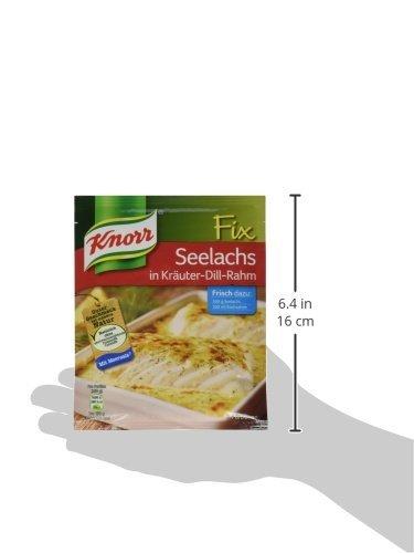 knorr fix seelachs in krauter dill rahm 2 portionen amazon de amazon pantry